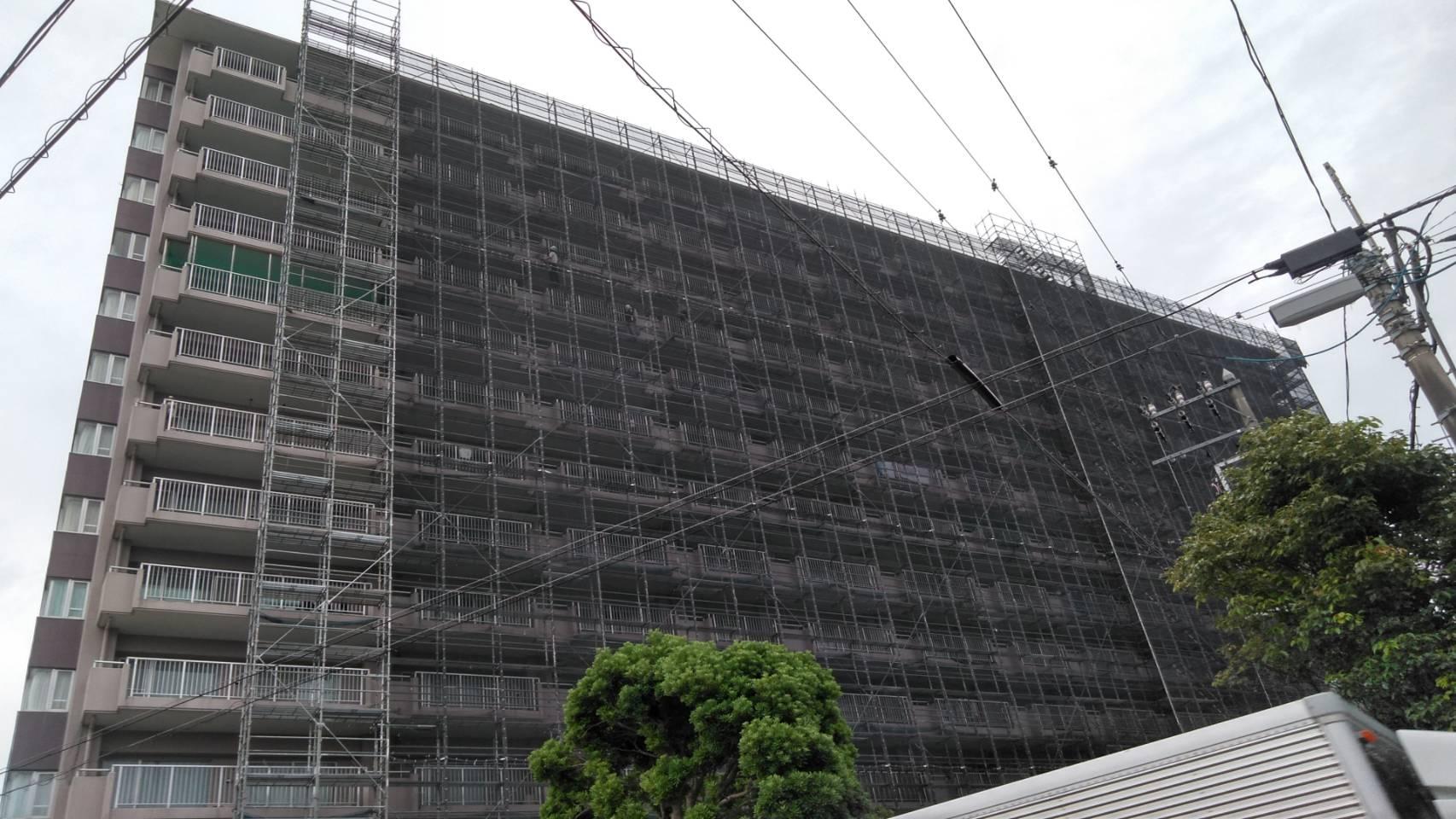 トネクションの大規模修繕工事